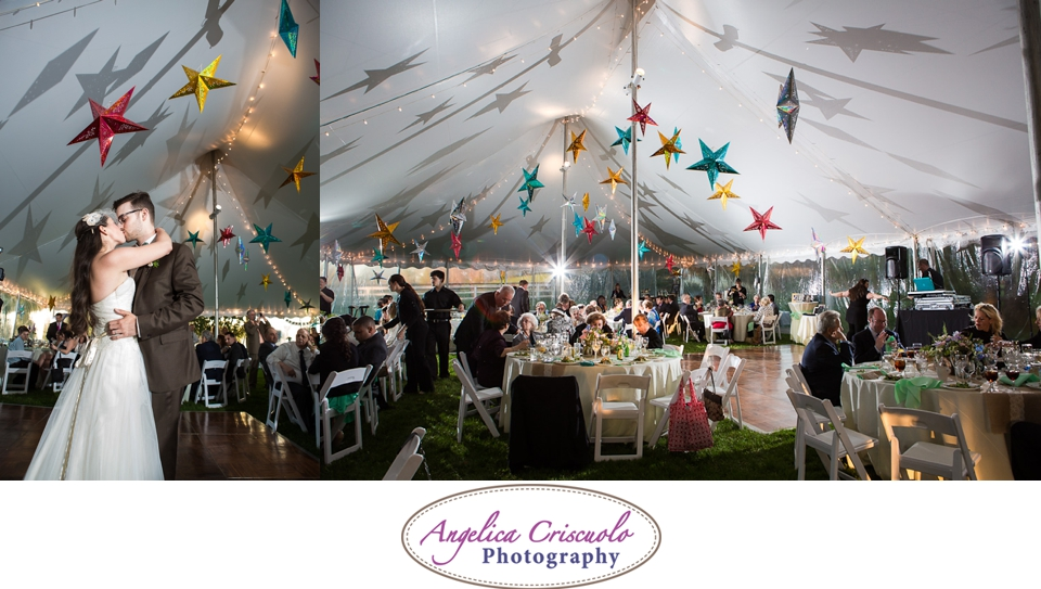 Charlotte's restaurant tent reception in Millbrook New York NY