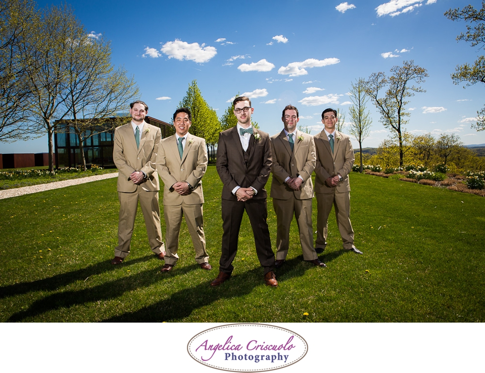 Groomsmen Photo Ideas in Junto Farms Milbrook NY