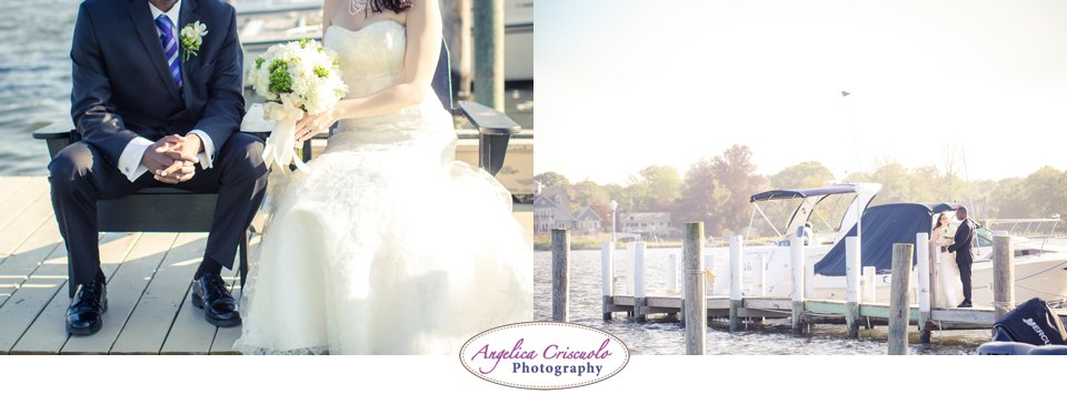 Wedding Photo ideas by the water and pier