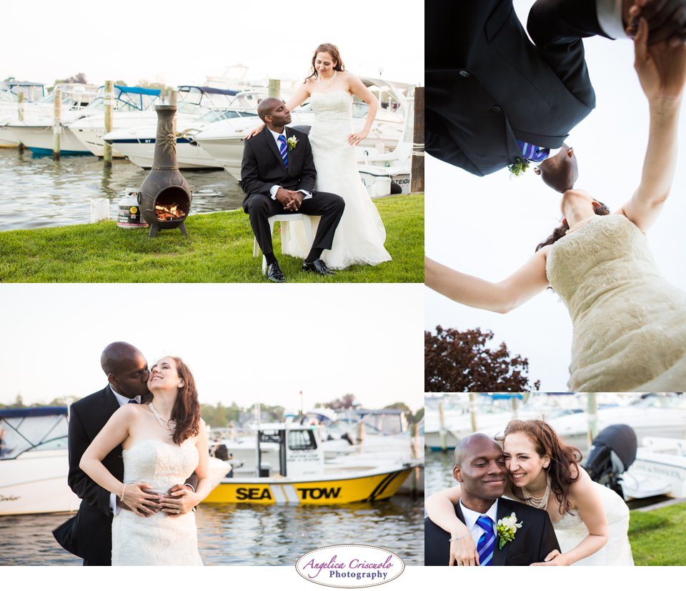 Wedding photo ideas by the waterfront beach