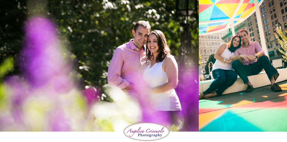 NY Wedding Photographer Surprise Proposal Engagement in City Hall Manhattan