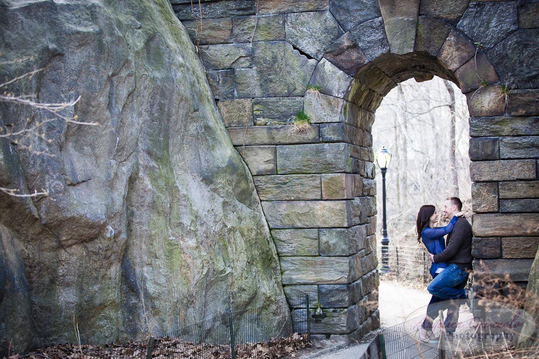 NYC Central Park Wedding Engagement Photo Ramble Ideas