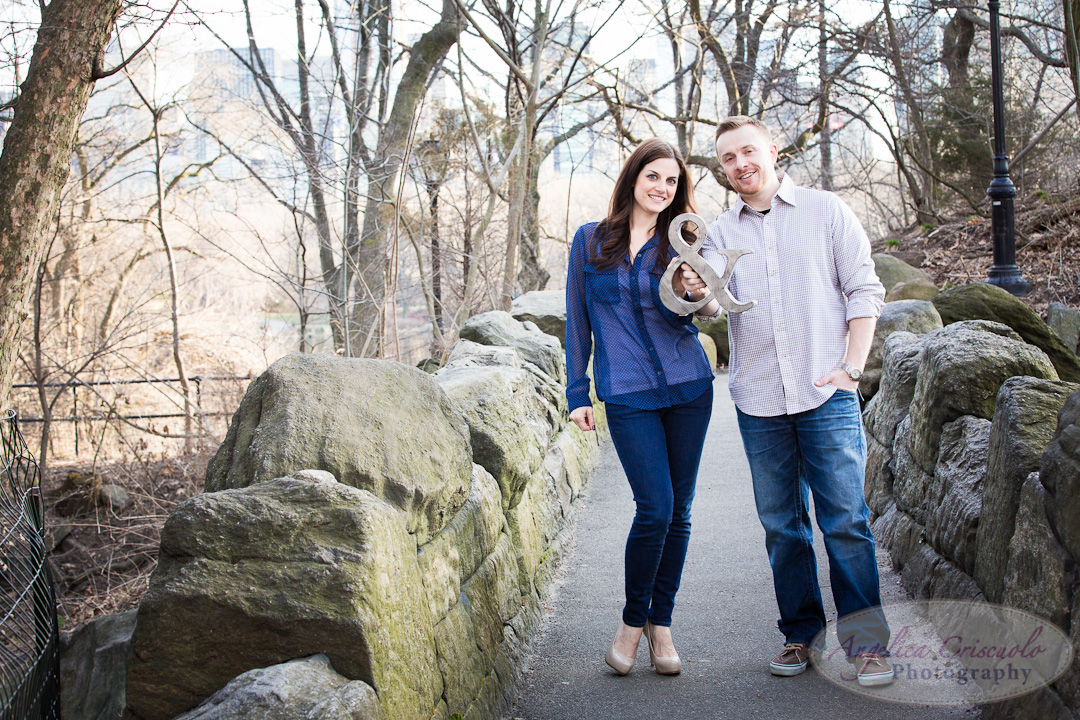 NYC Engagement photo ideas with an