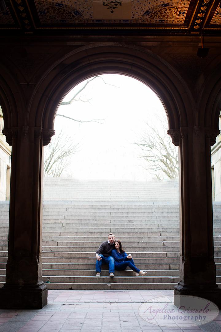 Central Park Bethesda Fountain photo ideas