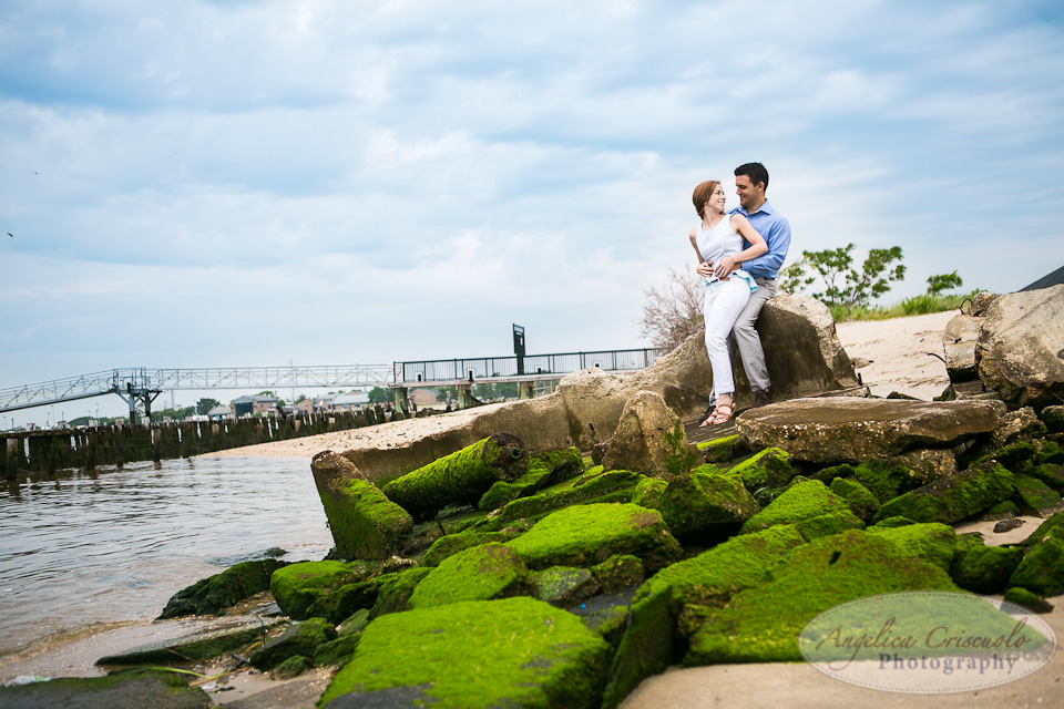 NJ Wedding Photographer Fort Hancock Beach Engagement Ideas