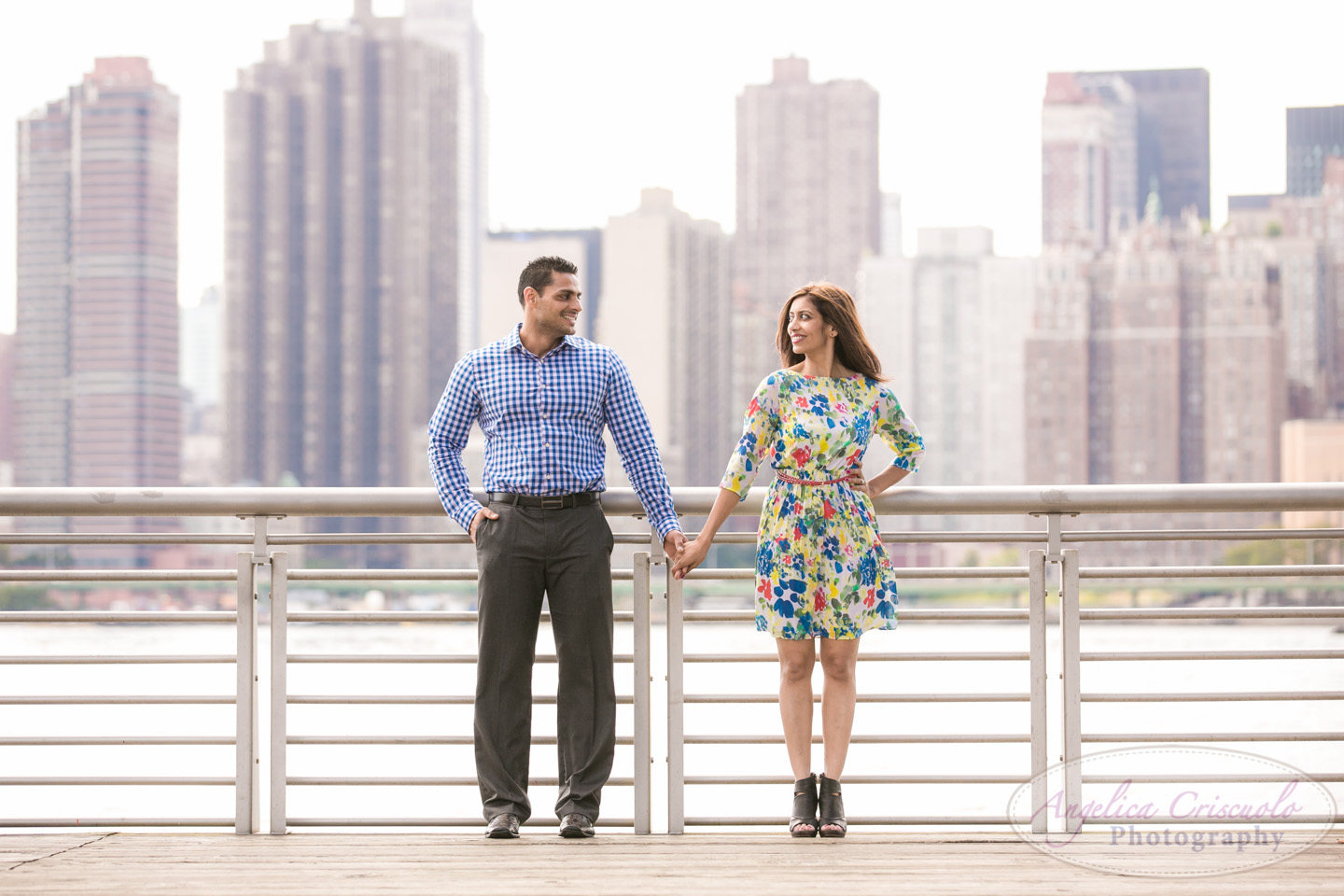 Queens NY Engagement Photo Ideas