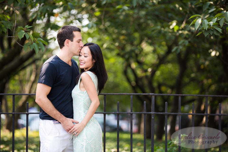 NYC Engagement Photo Ideas Carl Schurz Park UES