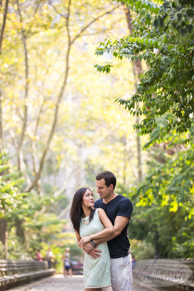 Carl Schurz Park best engagement photos in NYC
