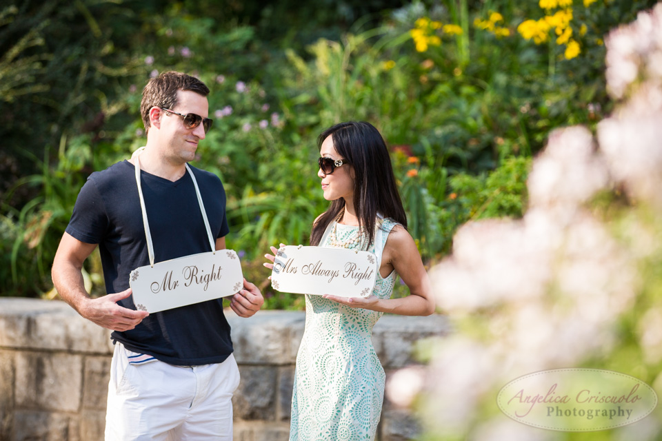 Mr Right and Mrs Alway Right engagement photo ideas