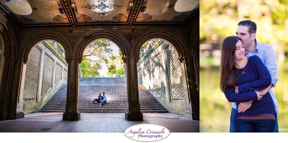 Bethesda Fountain Photo engagement ideas Central Park