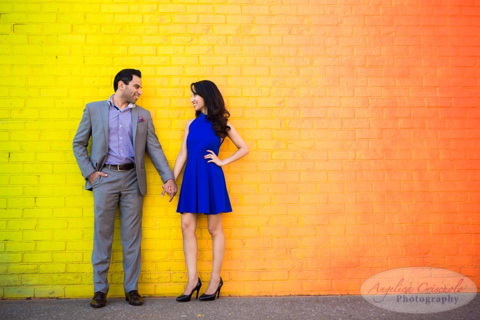 brooklyn dumbo engagement photographer photos editorial in DUMBO graffiti ideas