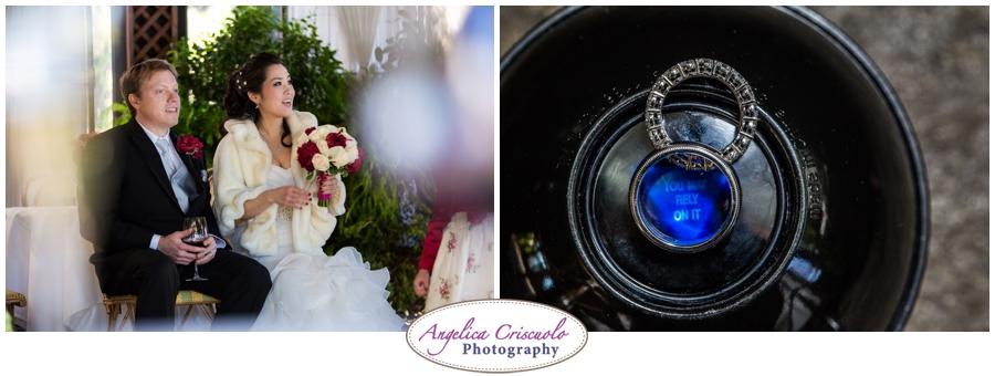 NYC Wedding photographer December Wedding