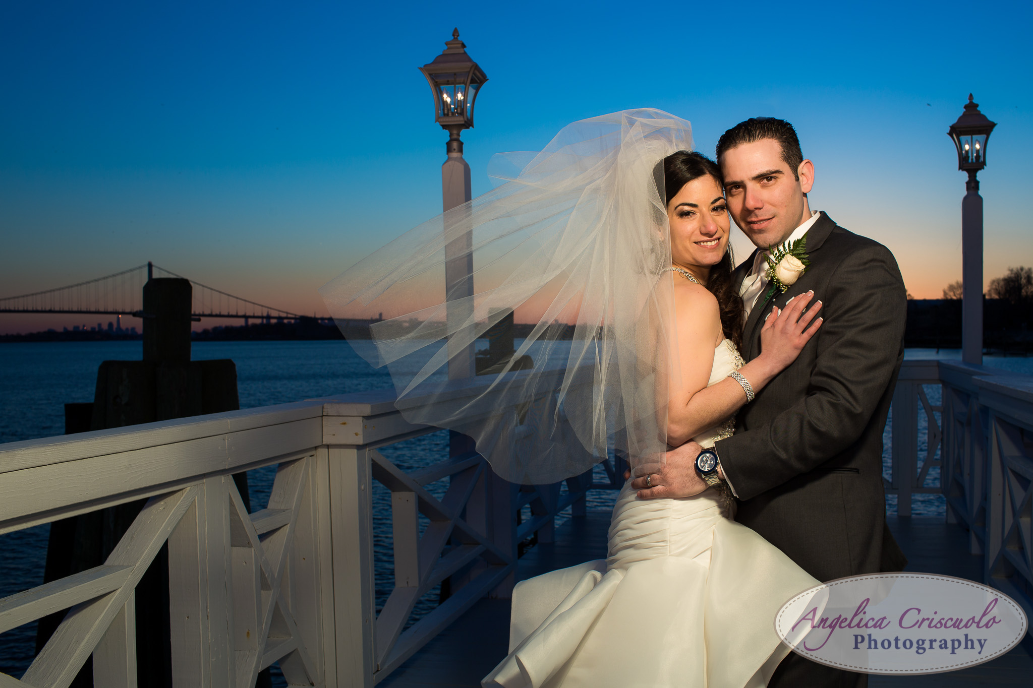 New York Wedding Photographer Marina Del Rey Bronx Sunset