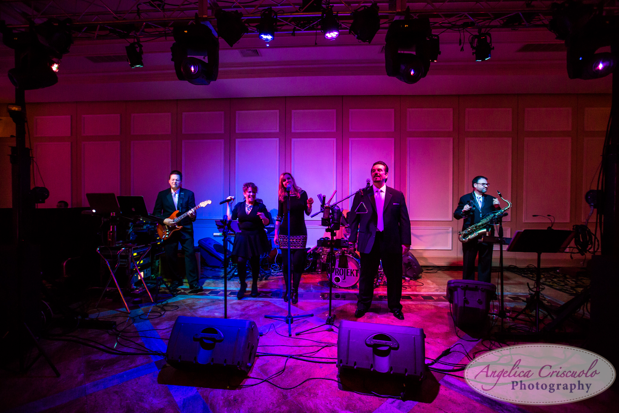 New York Wedding Photographer The Project live band
