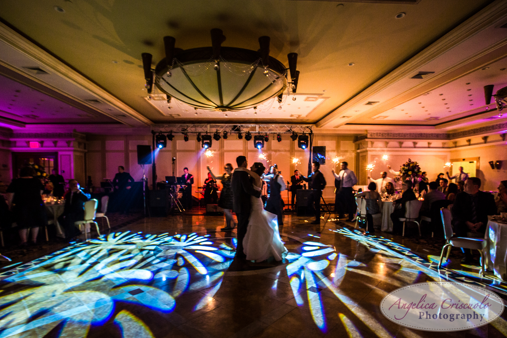 New York Wedding Photographer Marina Del Rey sparklers