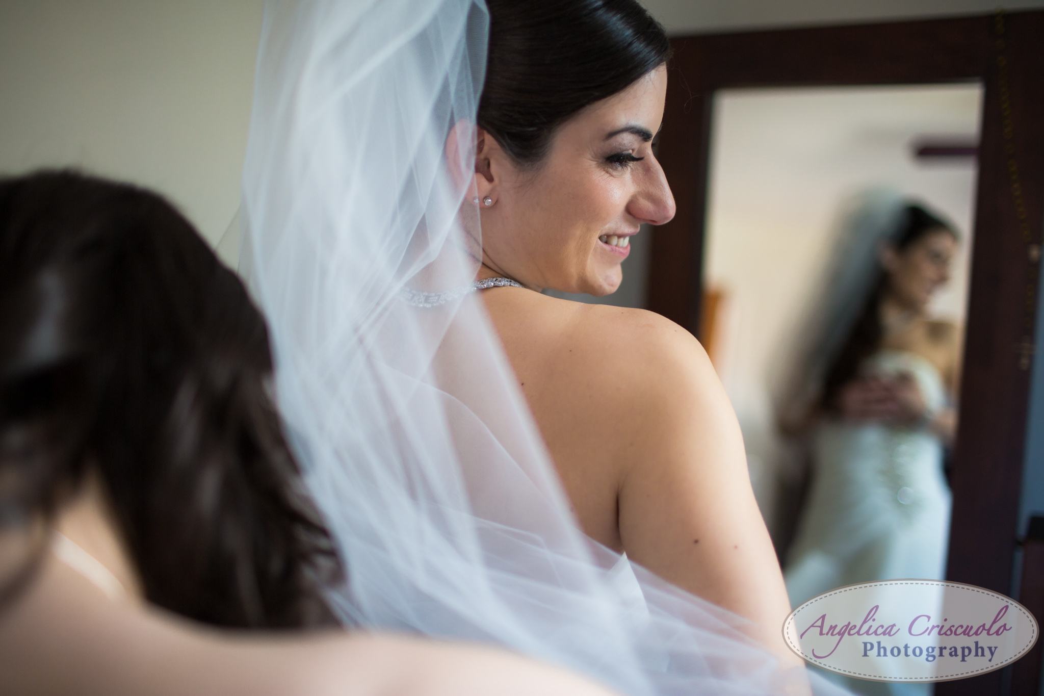 New York Wedding Photographer Getting Ready Bride