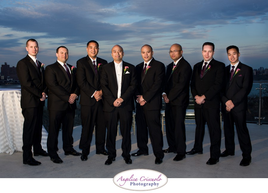 new york wedding photography groomsmen