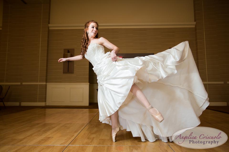 New Jersey Bride Ballerina photo idea