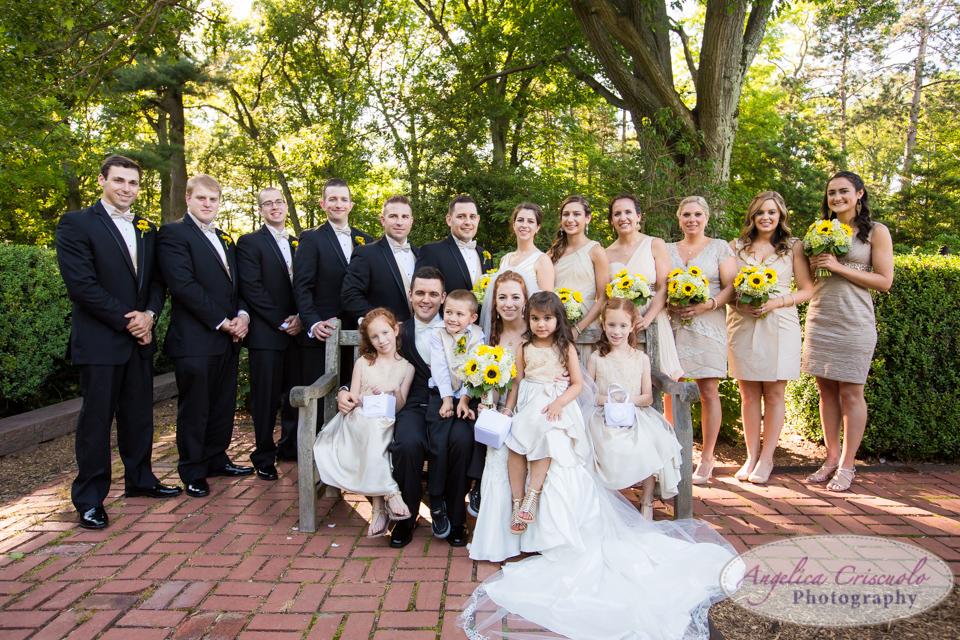 NJ Wedding photography Bridal Party photos