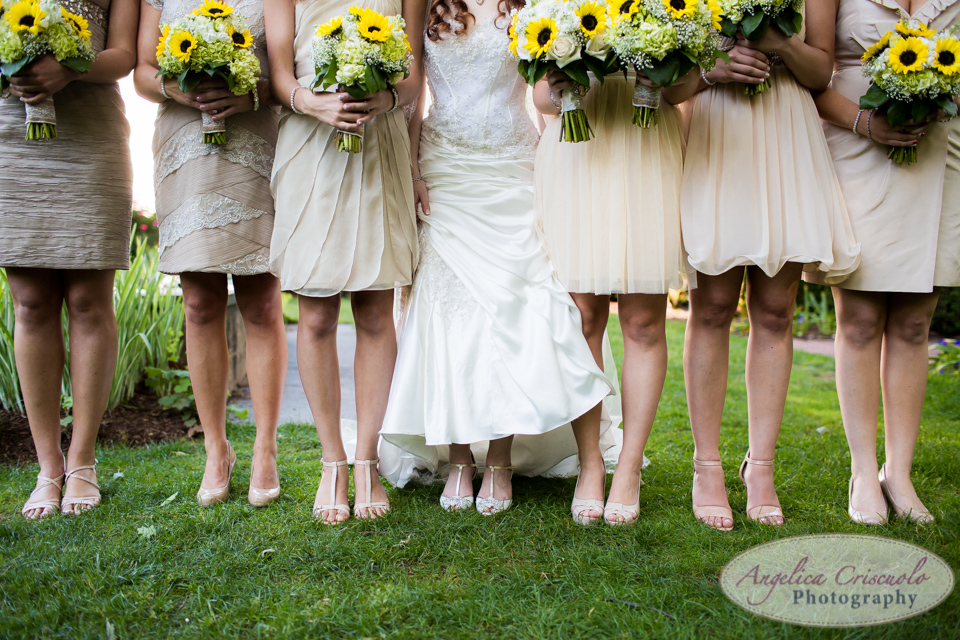 New Jersey Wedding shoes bridal party