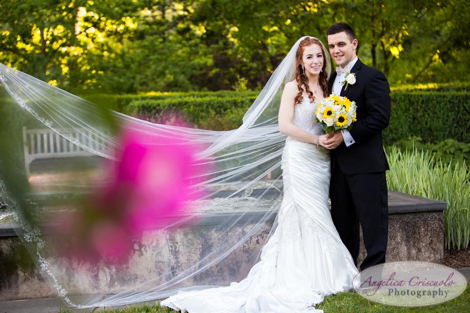 New Jersey Wedding Photography Bridal Portrait Frelinghuysen Arboretum 353 East Hanover Avenue Morristown, NJ 07960