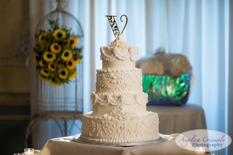 Bovella's Wedding Cake New Jersey Wedding Photo Bovella's- Ralph Bencivenga