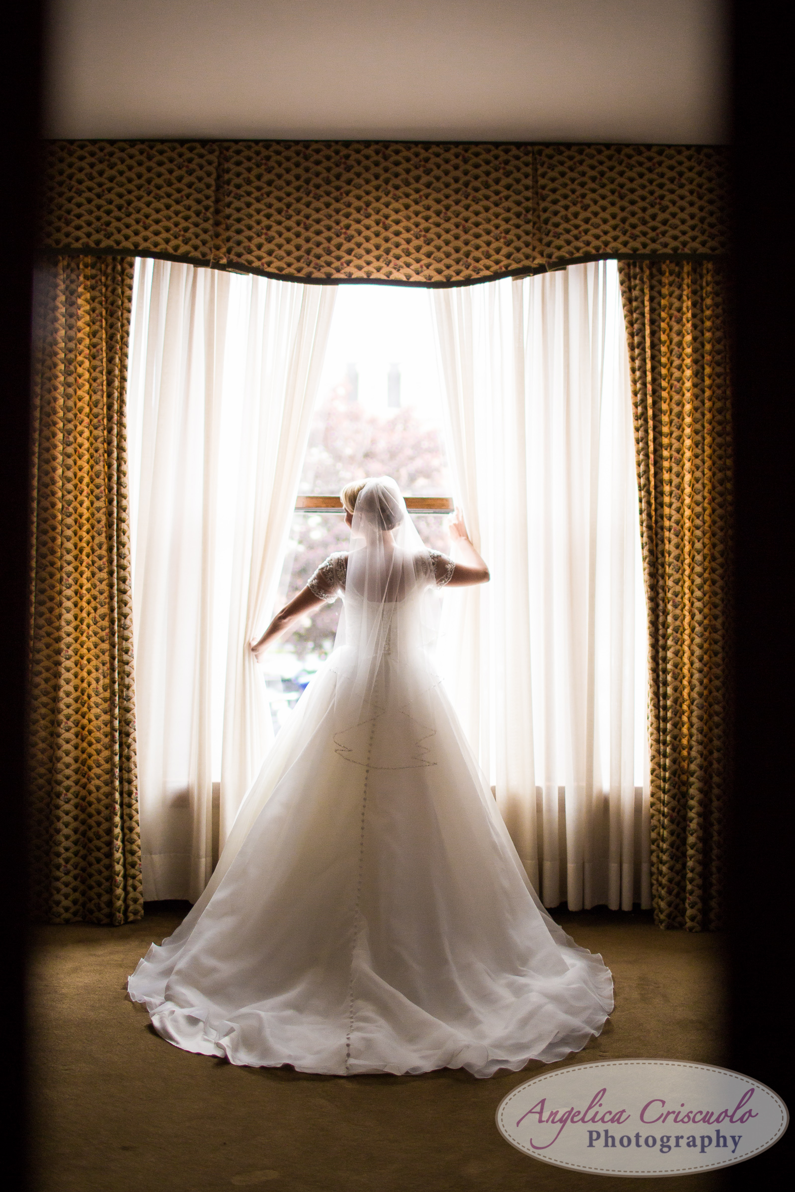 Buffalo New York Wedding Photographer bridal portrait