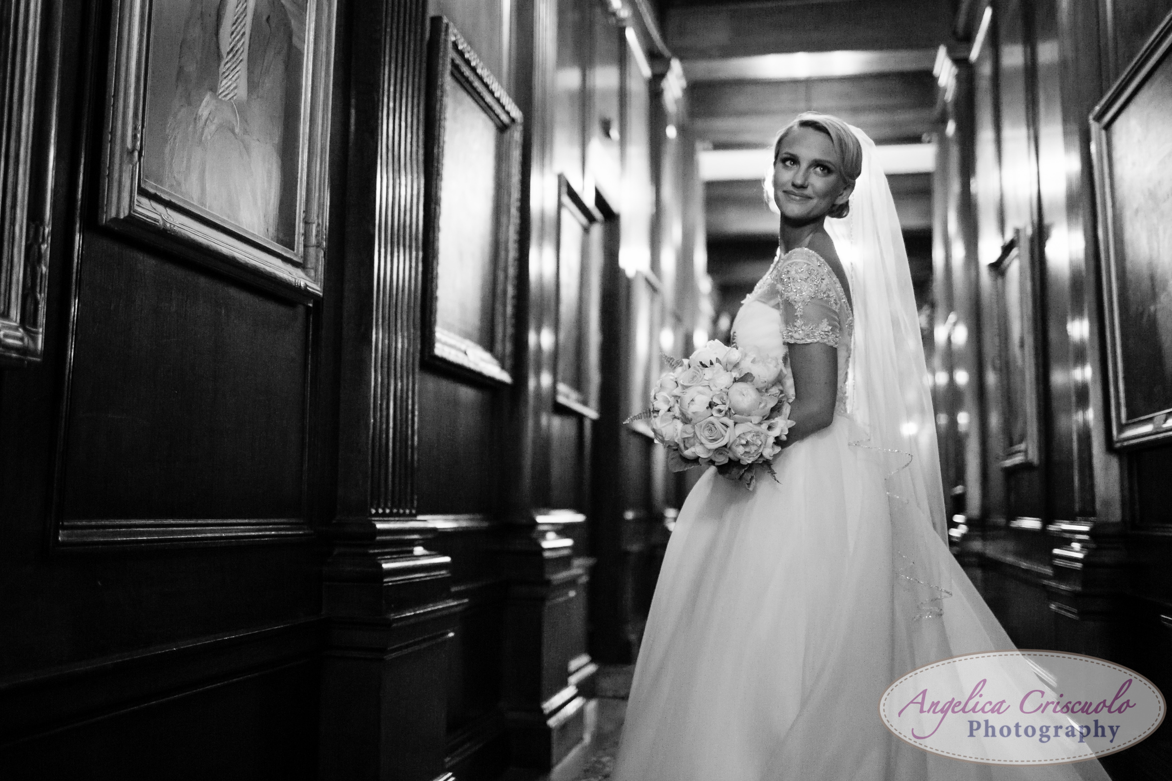 The Buffalo Club Wedding Photography bride portrait ideas
