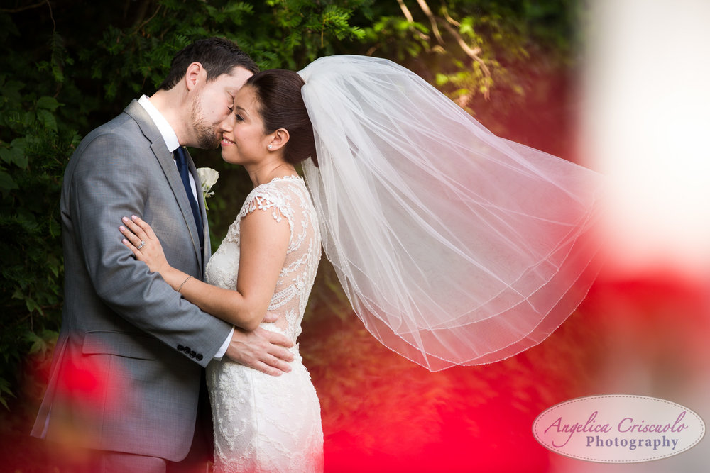 Bride and groom wedding photo ideas veil