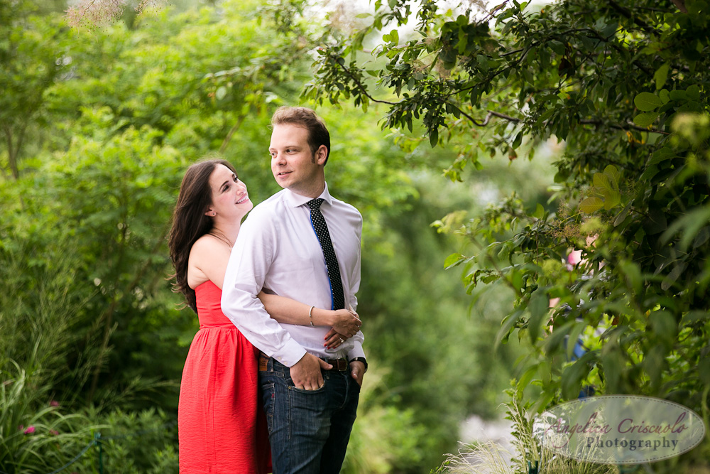 The High Line New York City engagement photo ideas