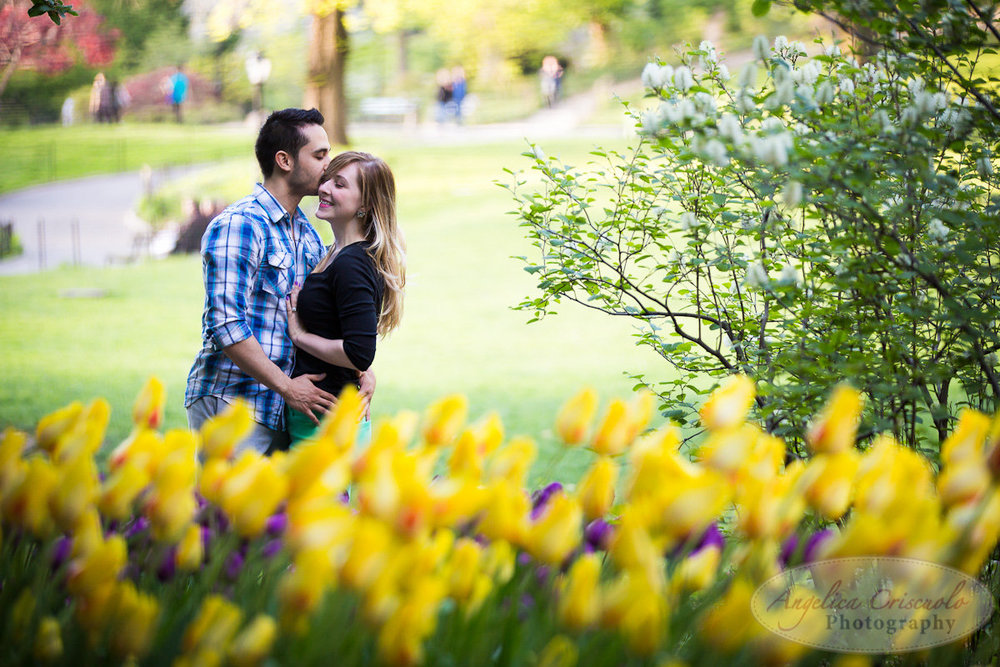 New York Engagement Photography Central Park Spring