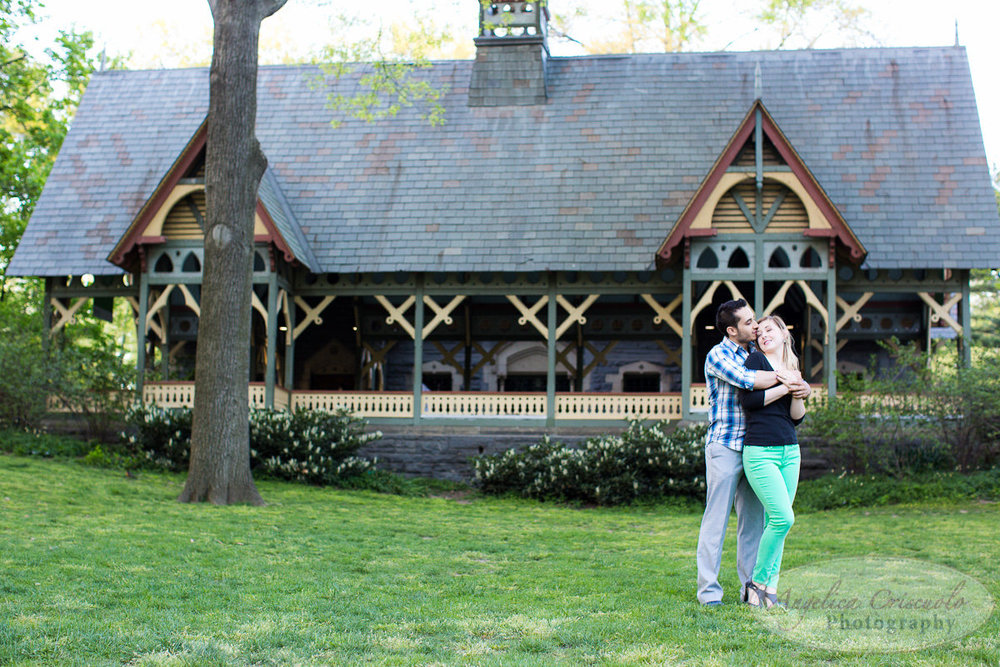 New York Engagement Photography Central Park The Dairy