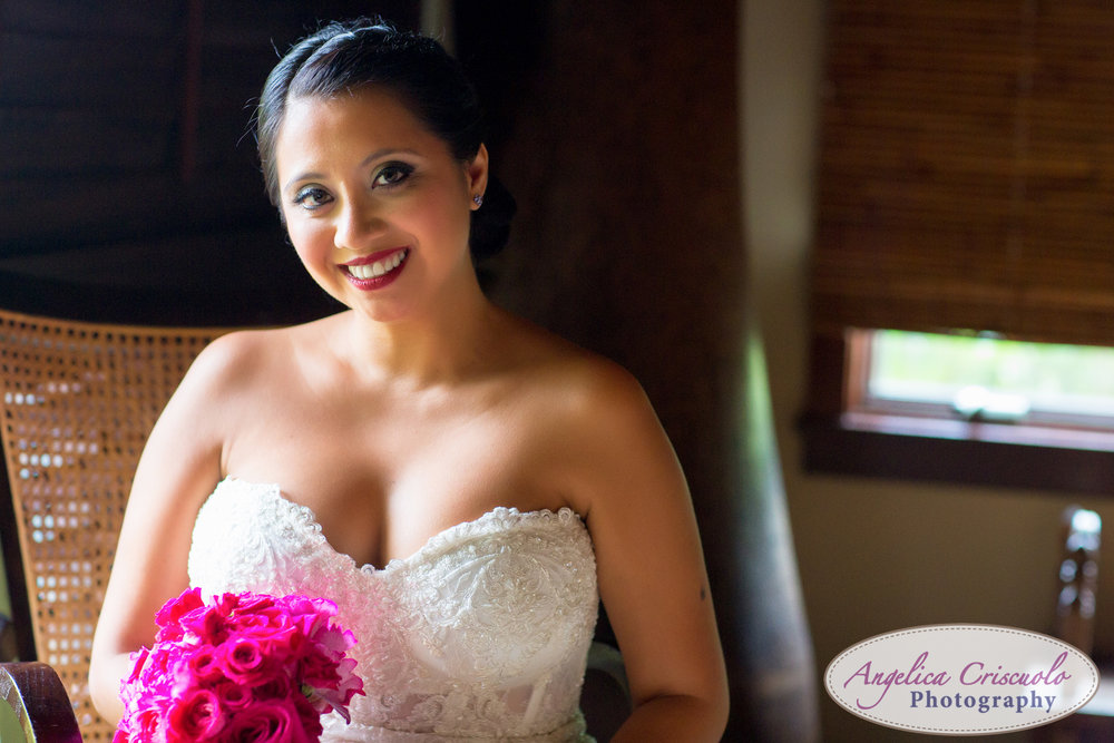 Oahu Hawaii Destination Wedding Photos Hale Ohana House Terrace
