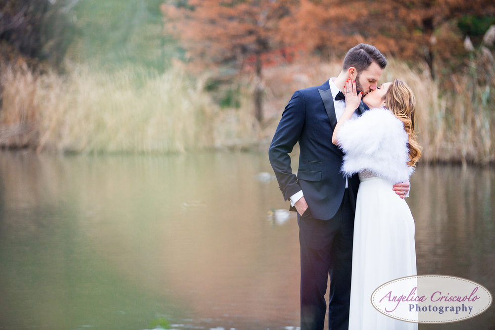 Central Park New York engagement couple wedding photos formal wear