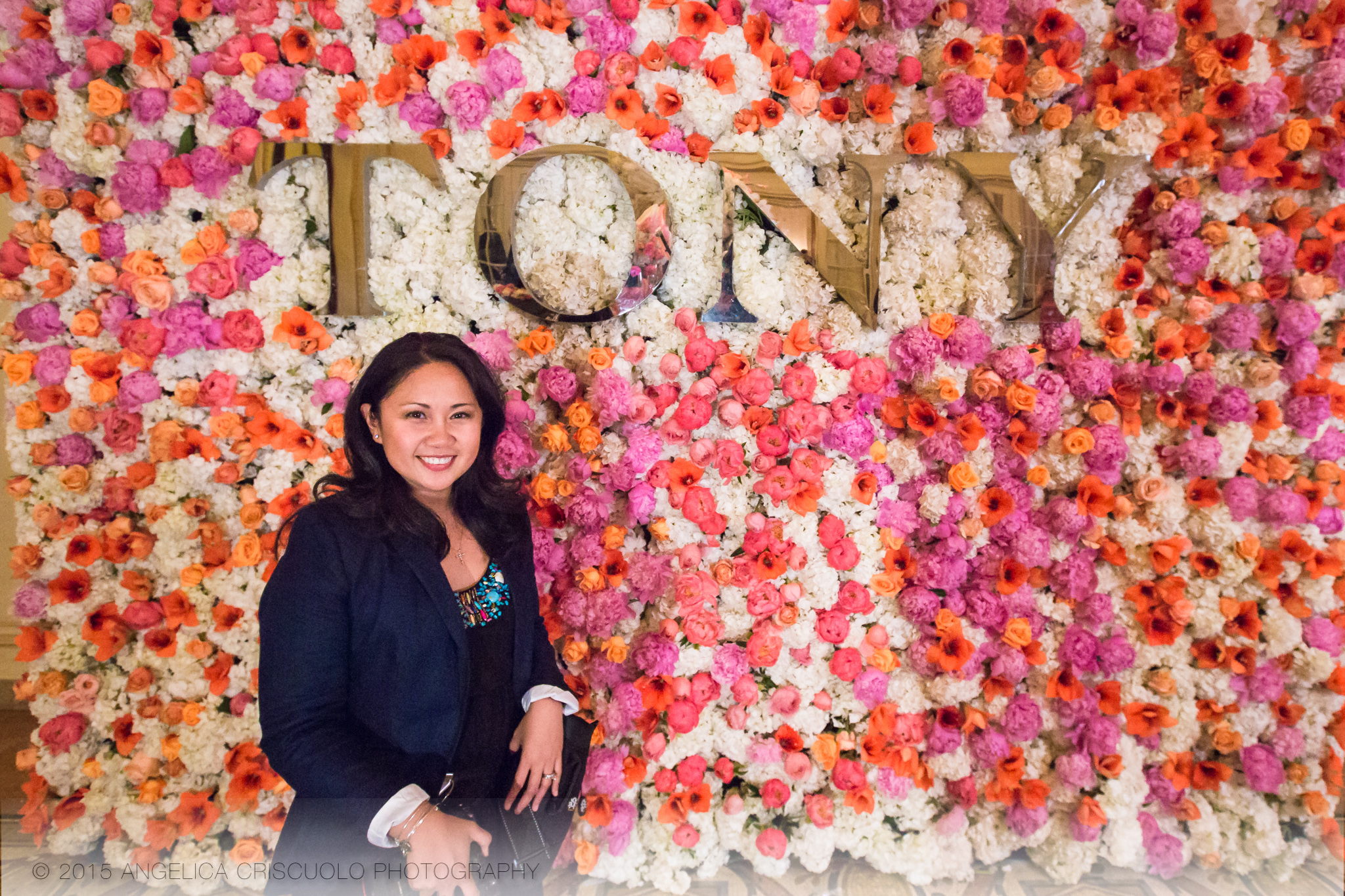 New York Tony Awards Gala Park Plaza Ivie Joy Flowers Centerpieces Angelica Criscuolo