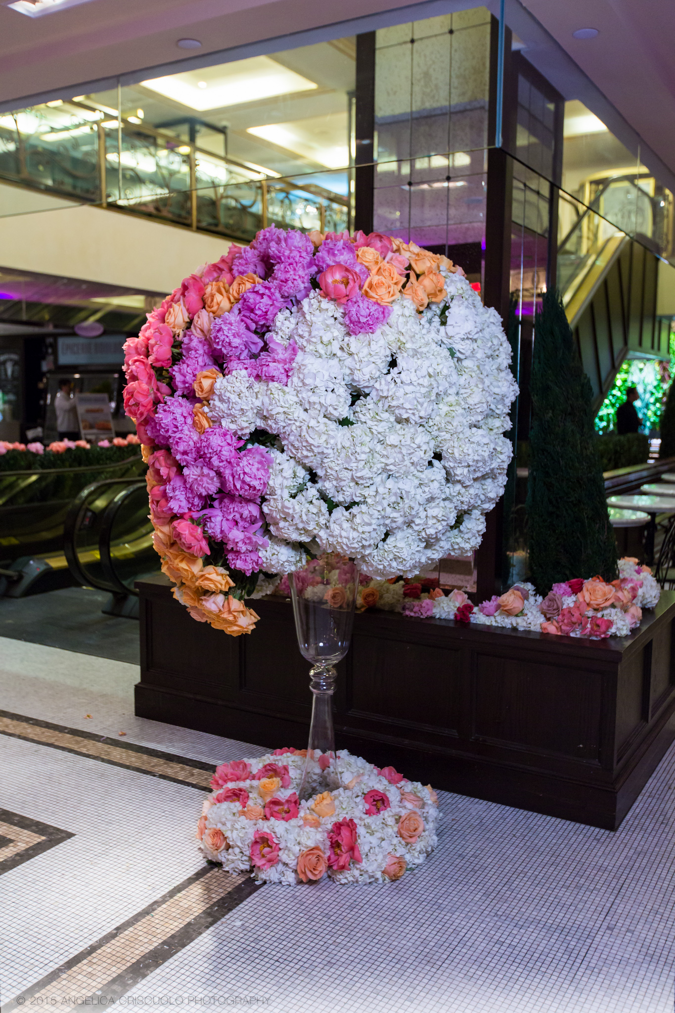 New York Tony Awards Gala Park Plaza Ivie Joy Flowers Giant Centerpieces