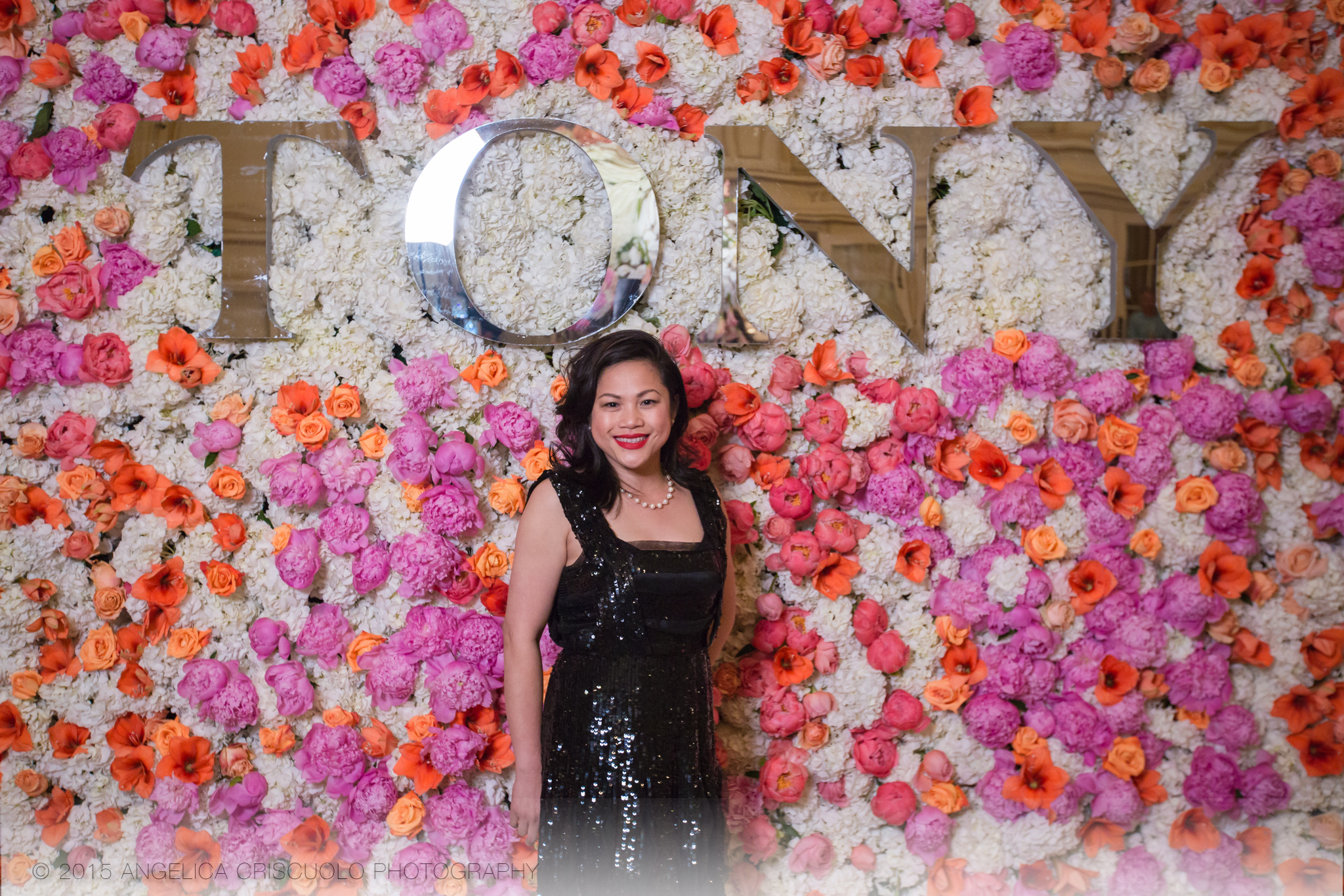 New York Tony Awards Gala Park Plaza Ivie Joy Flowers - Ivie Joy Gonzales