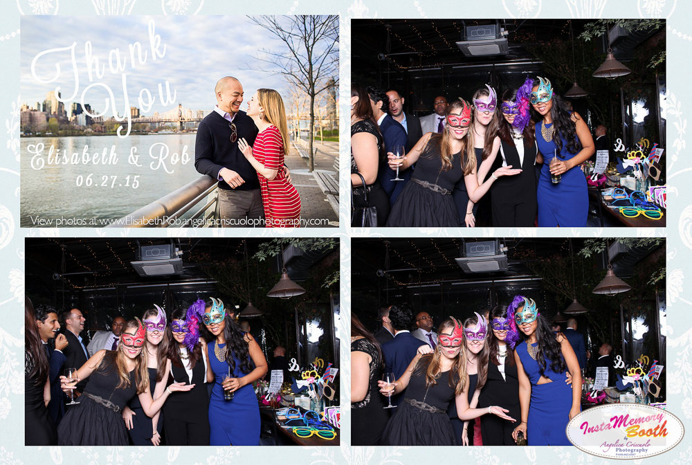 Best NYC Photo booth rental for weddings and corporate events