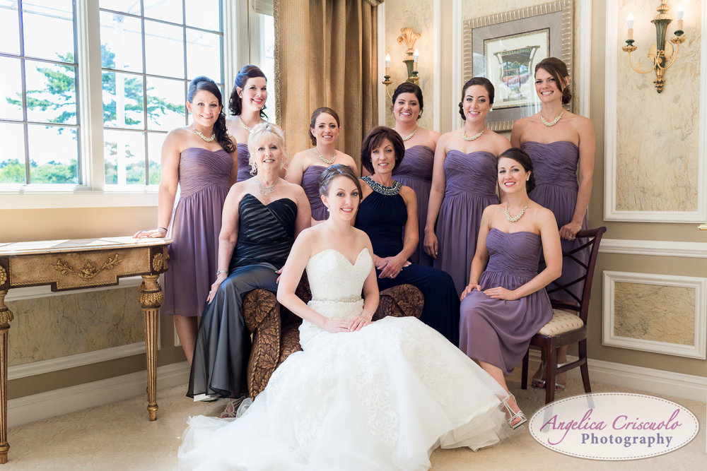 Bridal party wedding photos ideas new york wedding photographer