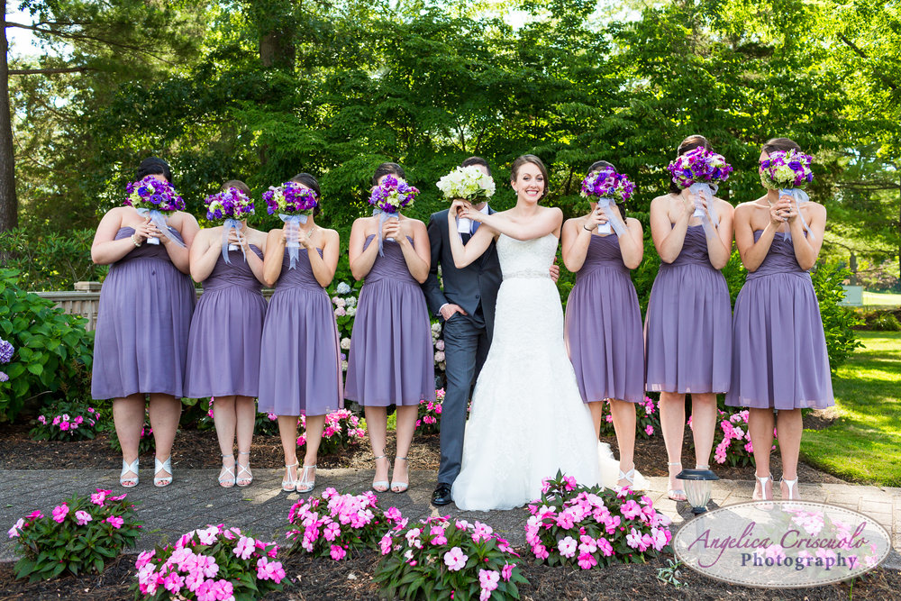 Style Me Pretty bridal party photo ideas