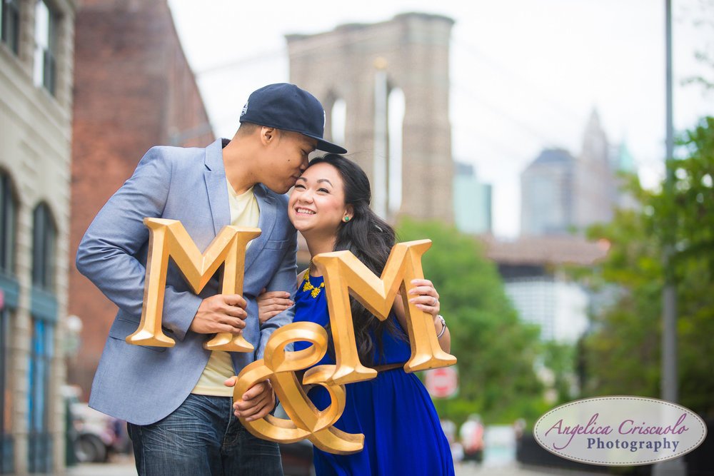 Brooklyn Engagement photos DUMBO New York Photographer Wedding