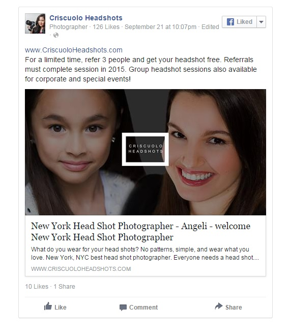 Best New York Headshot photographer