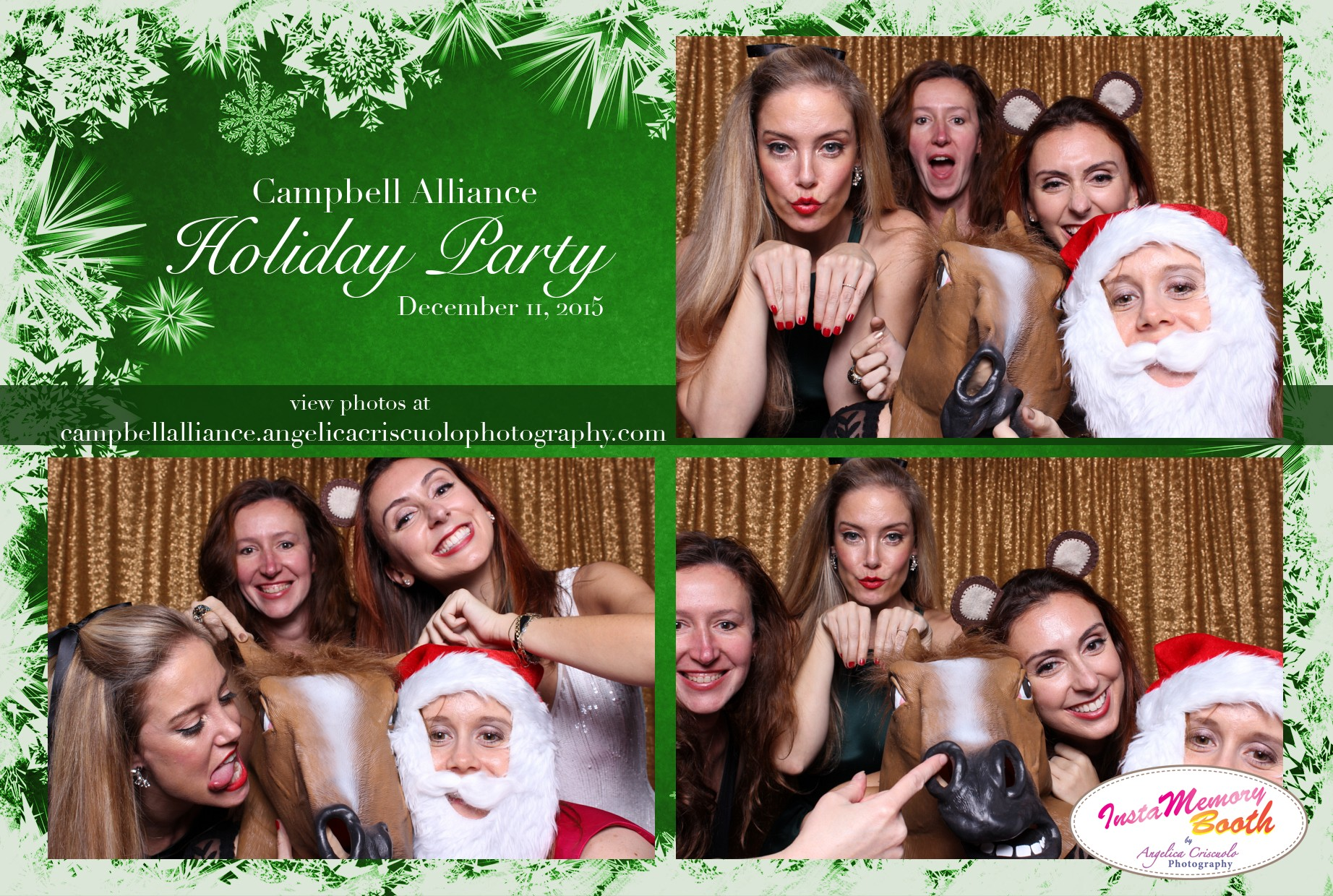 New York Photo booth rental Campbell Alliance at the Kimberly Hotel NYC