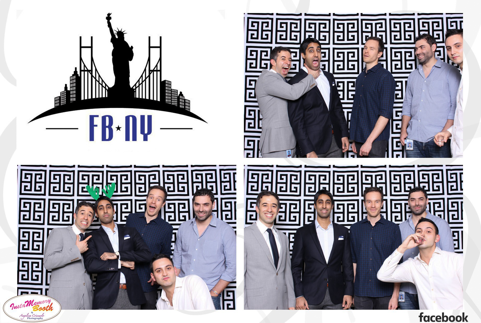 Best New York Photo booth rental w/ Facebook NY Corporate office - NYC