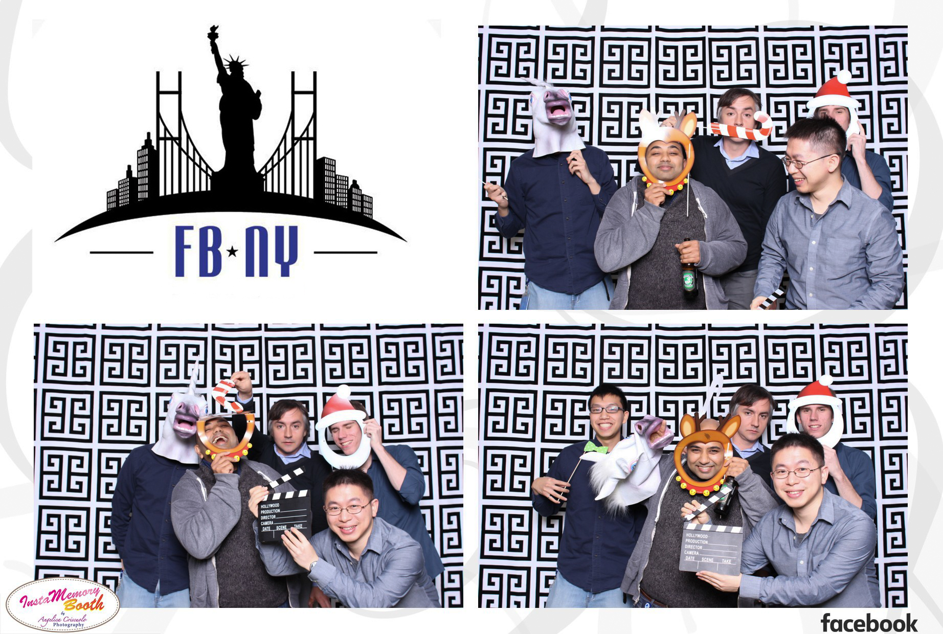 Holiday Party Photo booth rental in NYC New York