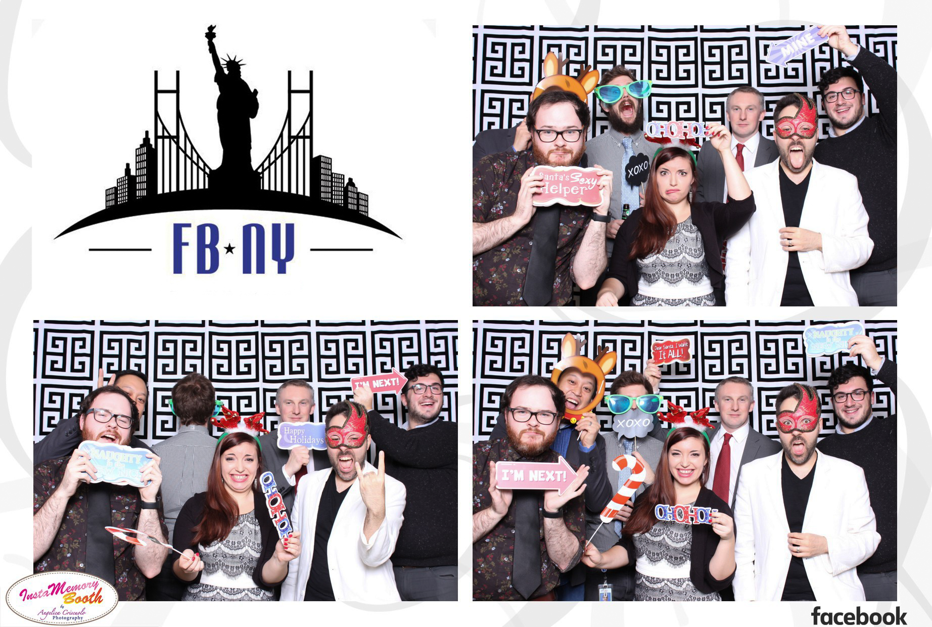 Best New York Photo booth rental w/ Facebook NY Corporate office - Manhattan, Brooklyn, Queens, Staten Island, NJ, Manhattan, CT