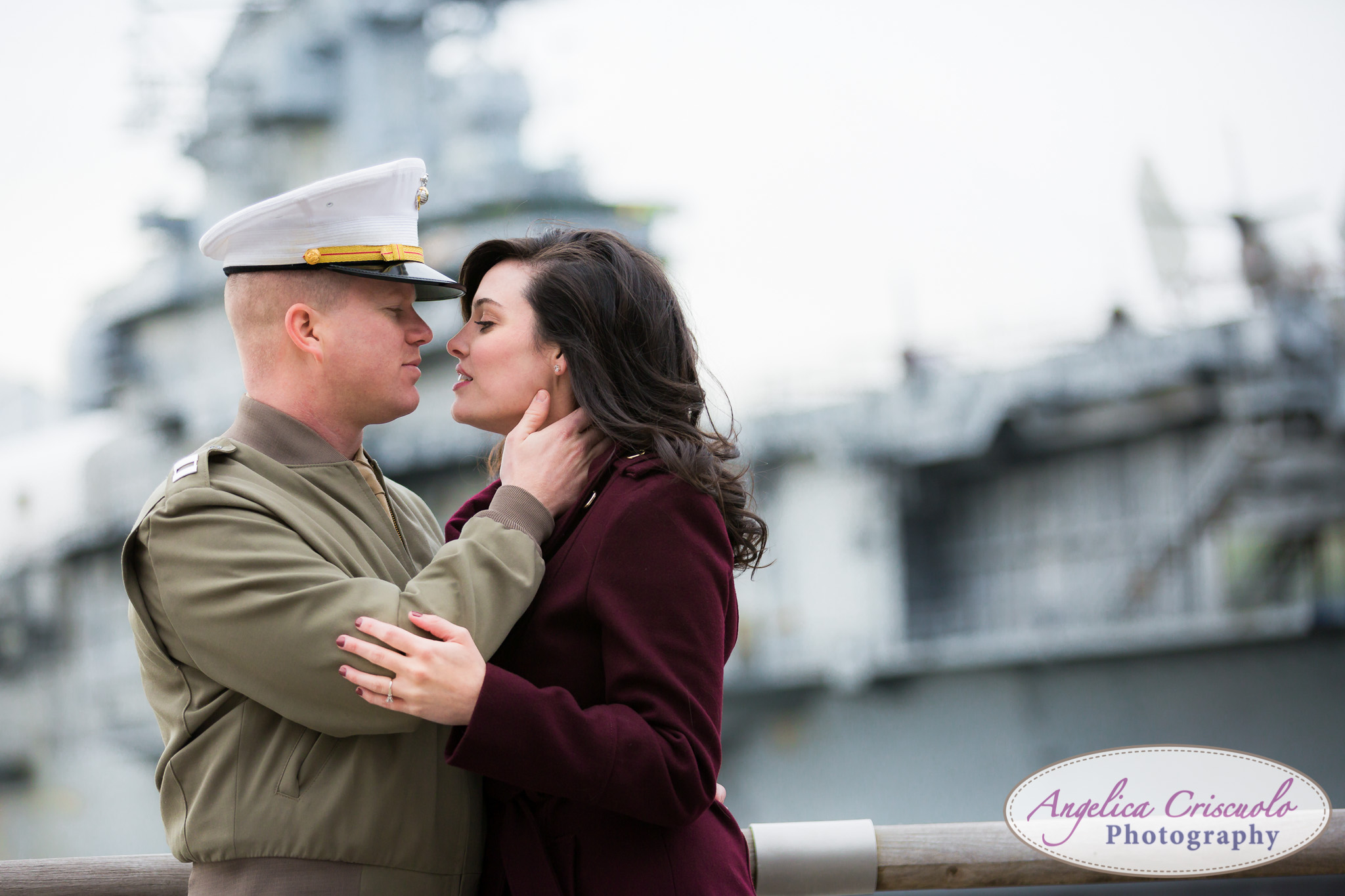 Armed Forces engagement photo ideas