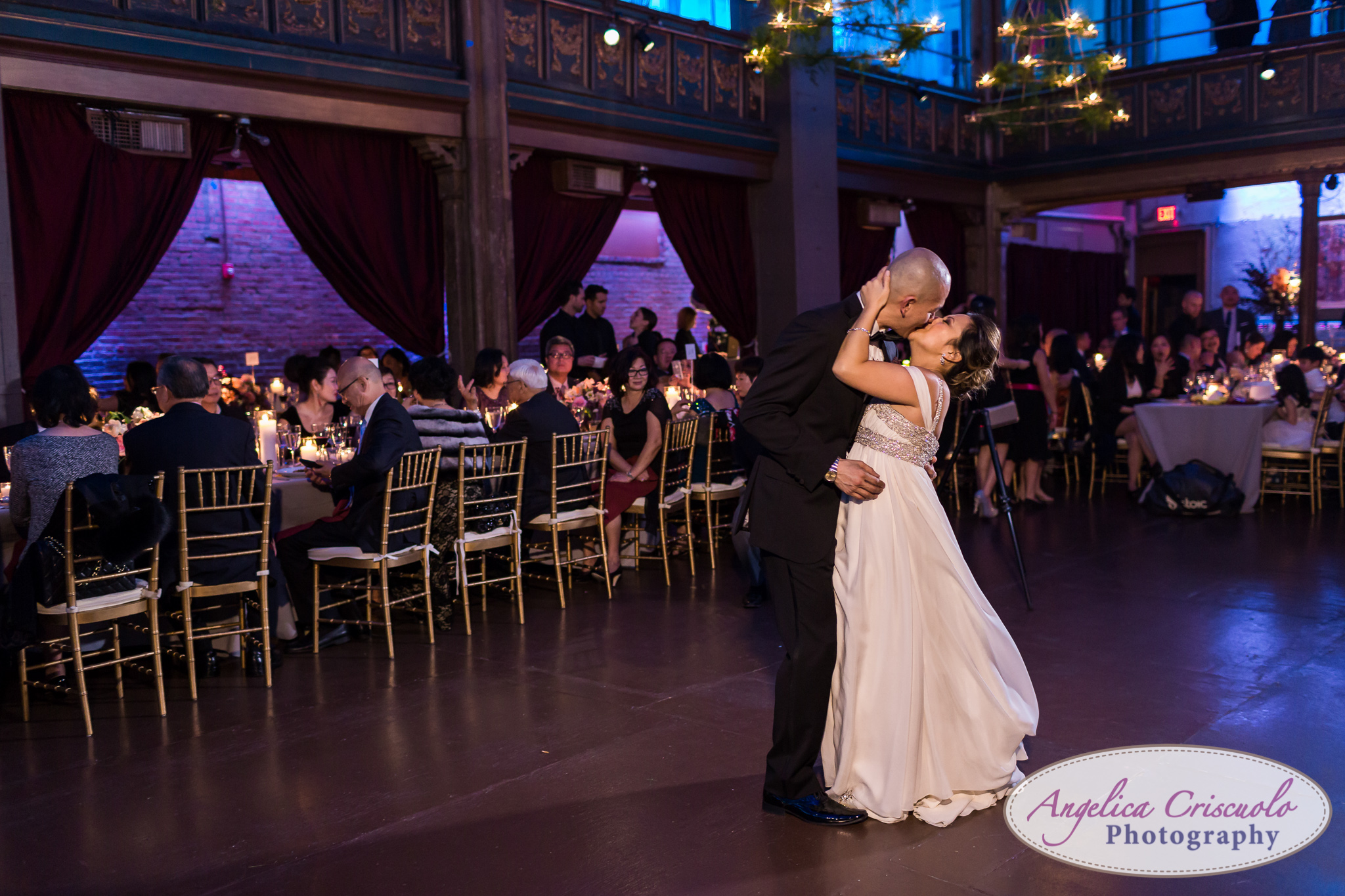New York Wedding Photographer Angel Orensanz Foundation First Dance