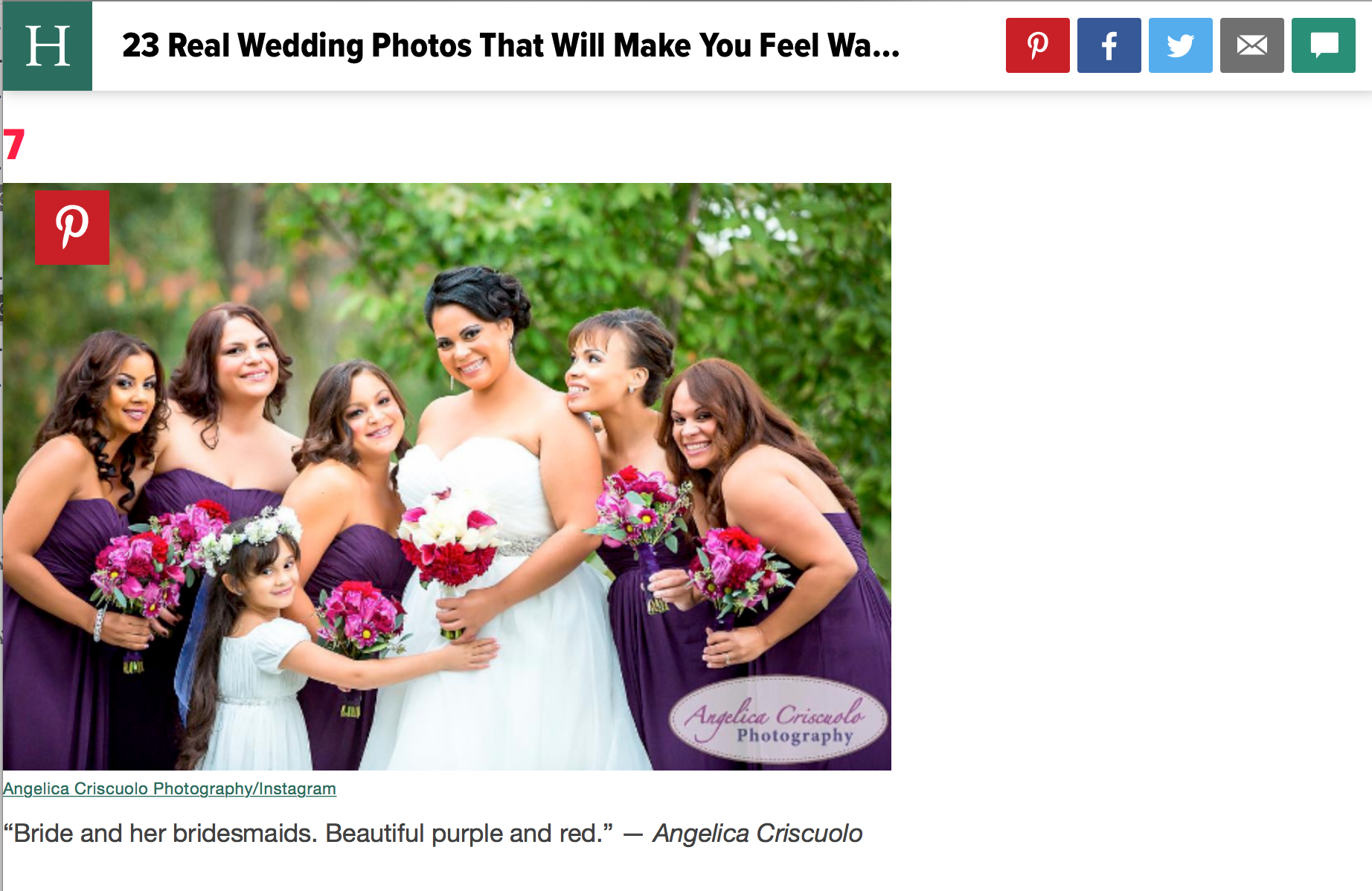 Best Wedding Photos Huffington Post