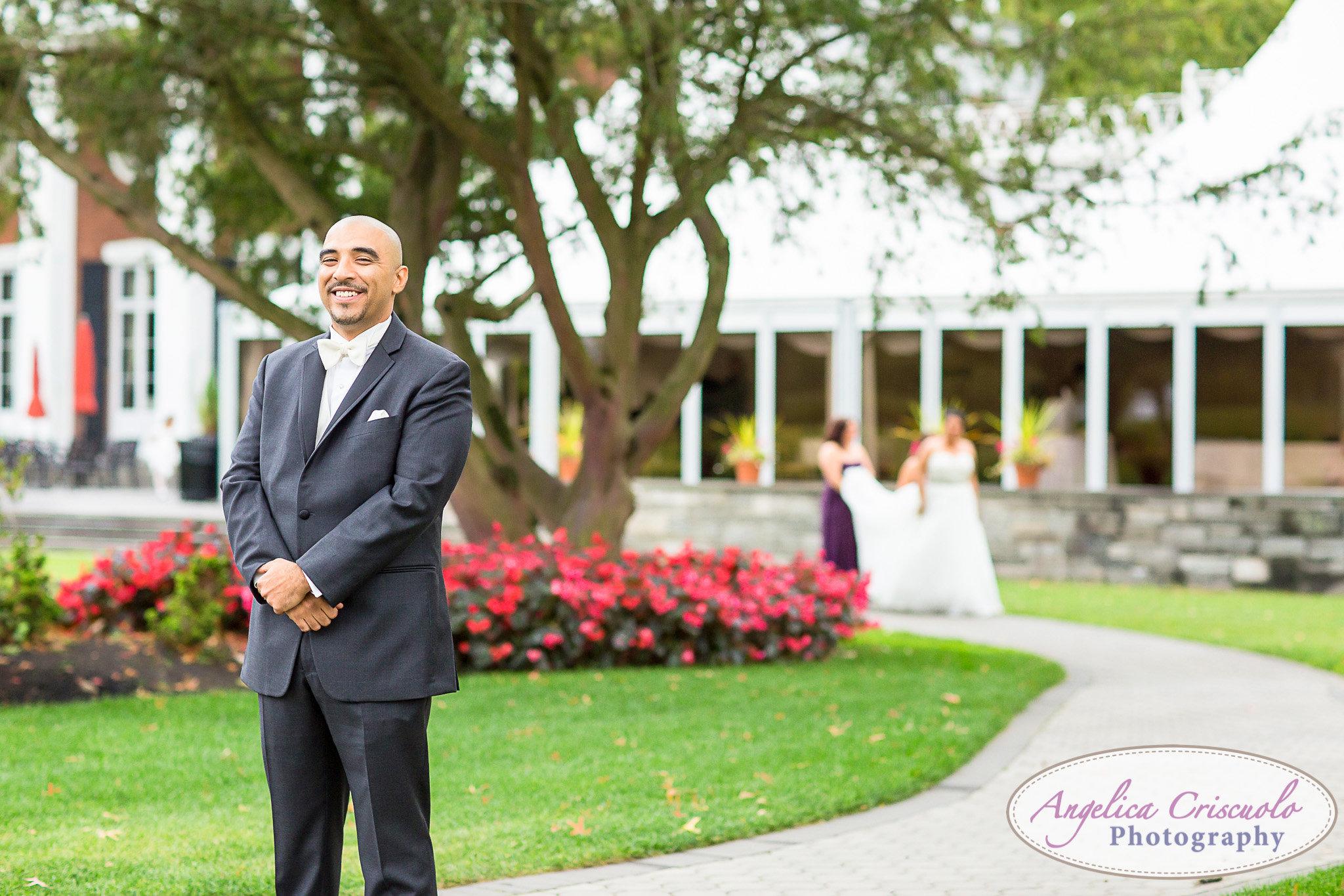 First Look Pelham Bay & Split Rock Golf Course Wedding in the Bronx
